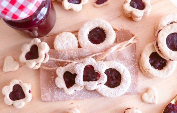 מתכון טבעוני להכנת עוגיות עם ריבה