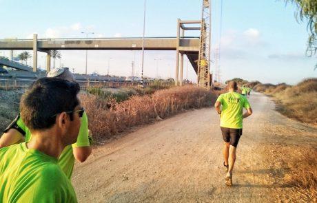רצים לקראת מרוץ החופים – אלי ברטפלד