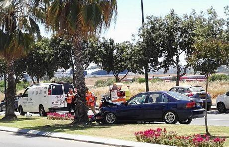 תאונת דרכים בשד' לנטוס פינת יהודה פרח