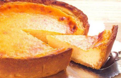 עוגת גבינהבחושה לשבועות