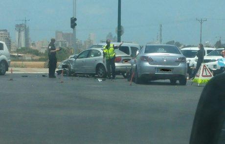 """שוב תאונה בצומת גשר האר""""י"""