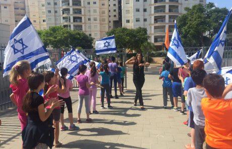 סטודנטים יהודים שחקני לקרוס ביקרו בבית הספר לאה גולדברג