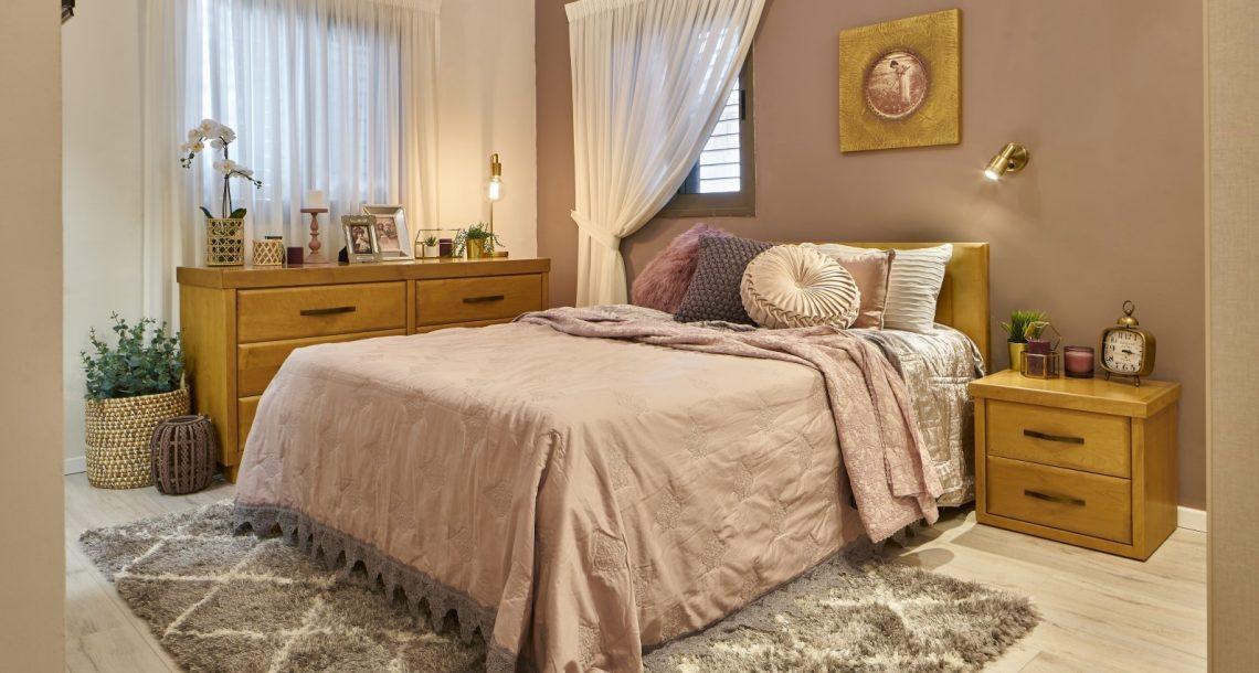 שושה מעצבת פנים והום סטיילינג מציגה כיצד לשדרג את חדר השינה שלכם