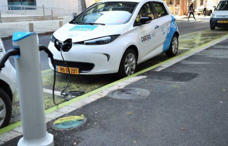מיזם הרכב השיתופי החשמלי של CAR2GO בנתניה