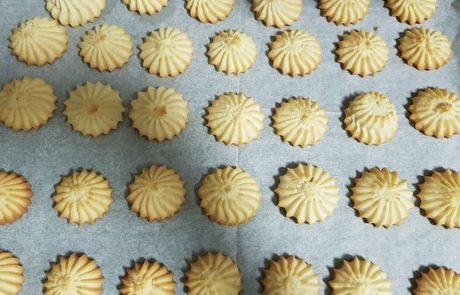 עוגיות חמאה מזולפות מהמטבח של פאני טוגר – גברת פירורית