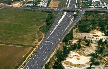 יציאה חדשה אל כביש החוף מגשר האחדות